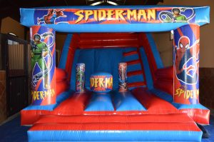 hinchable spiderman huelva