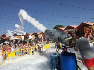 Fiestas de la espuma Bernal