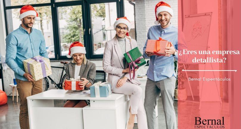 regalos de empresa para navidad, Bernal Espectáculos