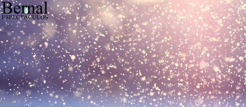 Cañones de nieve en huelva